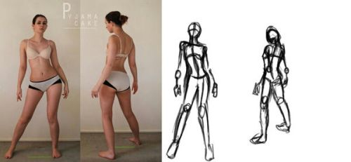 sketch this pose level1 by G4B2TER