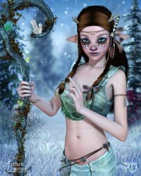 The Young Druid by RavenMoonDesigns