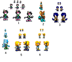 sprite prototypes 5 by R-CoMiX