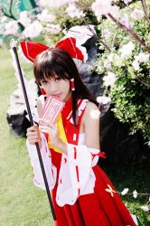 Touhou Project: Hakurei Reimu2 by Itchy-Hands