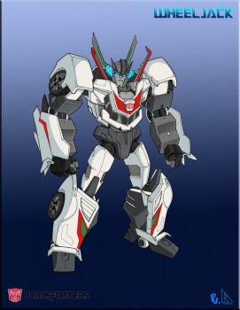 TF Prime Wheeljack by PiusInk
