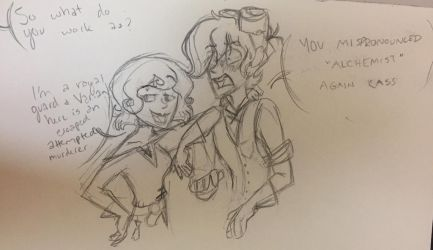 Tangledtober Day 9: Introductions by ficklepickle9421