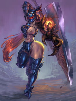 Nightmare, Soul Calibur 2 [rule63] by cutesexyrobutts