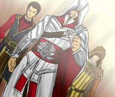 Assassins in Rome by jassessino