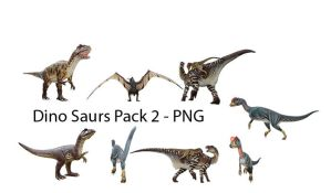 Dinosaurs Pack 02 - PNG by Susannehs