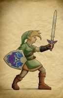 Link, Hero of Twilight by Paterack