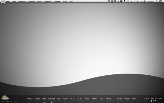 Daily Desktop - Keep it simple by iFonie