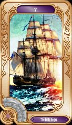 7 The Jolly Roger (The Chariot) by esuniwaya