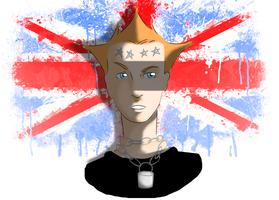 Vyvyan from the Youngs Ones by YERDUA