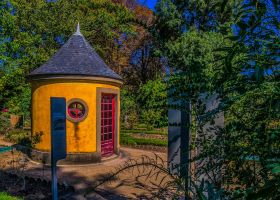 Botanical Garden Yellow House by bulgphoto