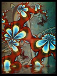 Oriental Blossoms by EarthGoddess