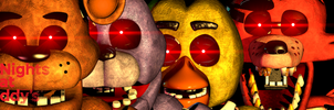 Five Nights at Freddy's The Red Eyes by NathanzicaOficial