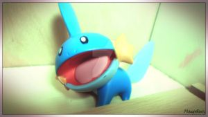 Mudkip Figurine by MidnightRarity