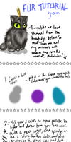 Simple Fur Tutorial by OryxPixie