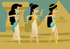 Walk Like an Egyptian 2 by BlackLutis