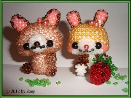 rabbit with fruits 2 by Zoey-01
