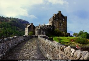 Premade Castle Background 01 by KYghost