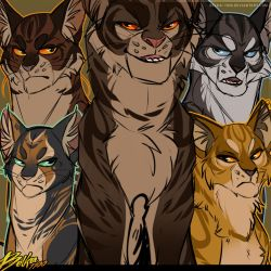 Tigerstar's Children by Belka-1100