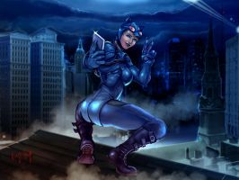 Catwoman by Ky2