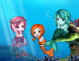 Under the Sea by Mibu-no-ookami