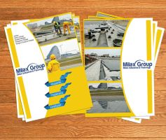 Brochure for Milax by Atabeyli