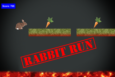 Rabbit Run by Rayquaza-dot
