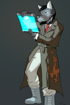 Commission - CCA Inspector by KonigPanther