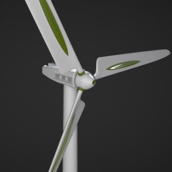 Wind Turbine by BlockedGravity