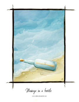 Message In A Bottle by NaBHaN