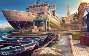 Morocco Docks by Dedyone