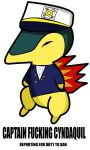 CAPTAIN CYNDAQUIL by Resistance-Of-Faith