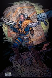 Cable Final Color by sullivanillustration