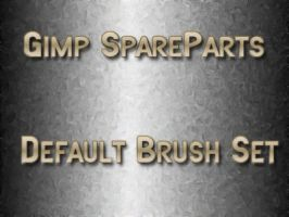 Gimp-SpareParts Default Brush by photocomix-resources