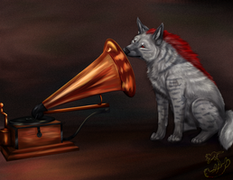 His Master's Voice - Hyenified by Roukara