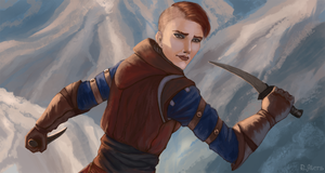 DAI: Inquisitor Trevelyan by R-Aters