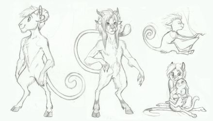 MLP- The Satyr by Earthsong9405