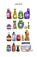 Condiments by RandomCushing