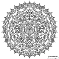 Krita Mandala 35 by WelshPixie