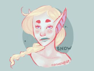 Gift - Snow by Firsher