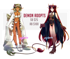 [OPEN 1/2] Demon Adopt Auction by enjistier