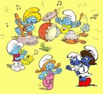 Smurflings-sitting by MyFanFictionPicture