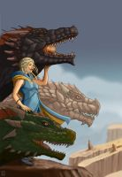 Daenerys Targaryen: Mother of Dragons by EdSquared