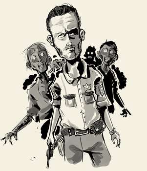 rick grimes by dagove