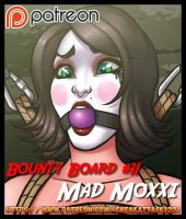 Patreon Bounty Board: Mad Moxxi by SneakAttack1221