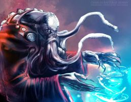 OCTOPUS MAGE by CHARLESRATTERAY