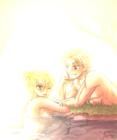 Bathe with me? by AnnMY
