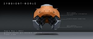 symbiont world - eagle ray hover bike 2 by przemek-duda