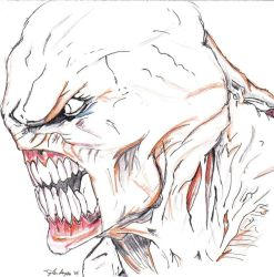 Nemesis Face by residentevilrulz