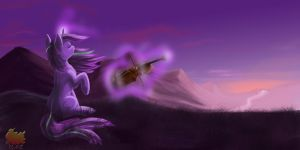 Playing wind by RadiantGhost