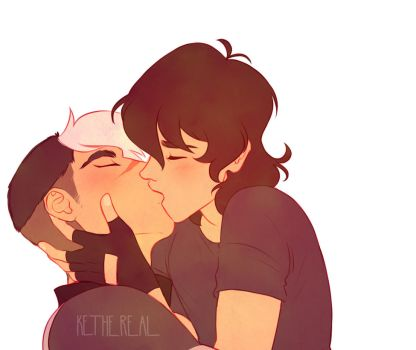 [VOLTRON] Sheith - Kisses by Kethereal